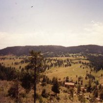 Image of View of landscape looking W/SW across C Lazy Three Ranch