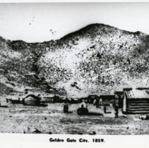 Image of View of Golden Gate City, 1859