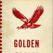 Image of Yearbook: soft-cover annual for Golden Junior High School for 1968-1969 school year.