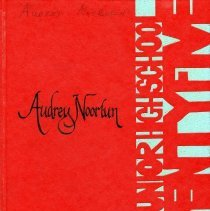 "Image of Yearbook: hard-cover annual for Bell Junior High School in Golden, Colorado, for the school year 1974-1975. On cover in calligraphy is ""Audrey Noorlun."""