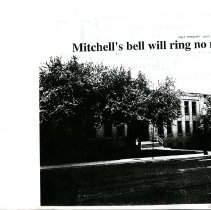 Image of Mitchell's bell will ring no more