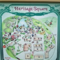 Image of Sign in original location at entrance to park