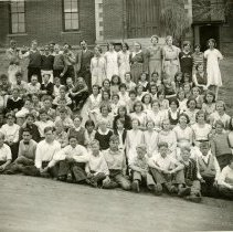 Image of South School students ca. 1920s