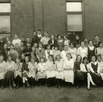 Image of North School class photo ca. 1920s