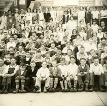 Image of Golden High School class photo ca. 1920s