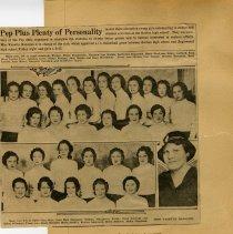 Image of Golden High School Pep Club 1933