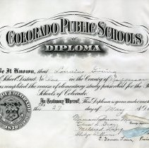 Image of 2015.072.055 - Diploma