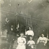 Image of Family group with swings c. 1908