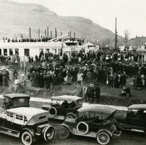 Image of Cornerstone Laying ceremony Golden High School 1922