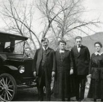 Image of Four members of the Koenig family ca. 1920s