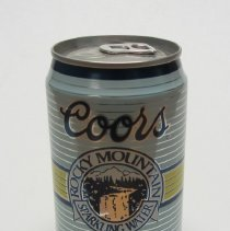 Image of Coors Sparkling Water can 1990