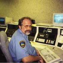 Image of Dispatcher Len Freeman, Golden PD