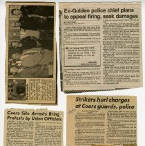 "Image of Clippings relating to Edwin ""Erv"" Noorlund"