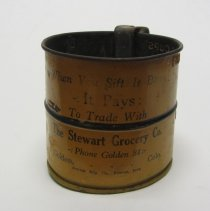 Image of Metal Flour sifter 1