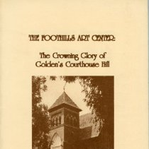 Image of A history of the Foothills Art Center building, with illustrations by Suzanne Williams