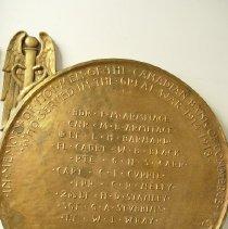 Image of 2004.0044.01 - Bronze Memorial Canadian Bank of Commerc