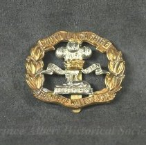 Image of 1932.0067.01 - Badge, Cap