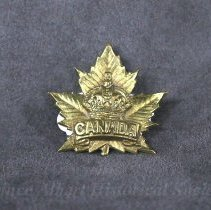 Image of 1932.0068.01 - Badge, Cap