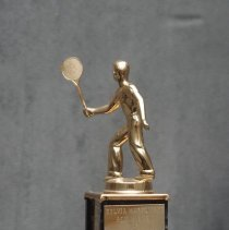 Image of Mixed Doubles Badminton Trophy