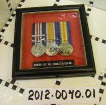 Image of 2012.0040.01 - War Medals