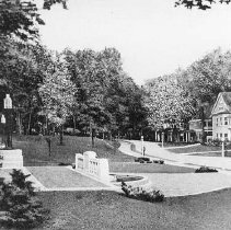 Image of Norton Hall with Fountain - Unknown