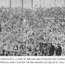 "Image of ""The Great Amphitheater Audience at Chautauqua"" - Wagner, Harold"