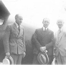 Image of Sir George Hubert Wilkins & Dr. Bestor - Wagner, Harold