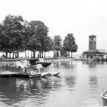 Image of Seaplane at Dock - Unknown