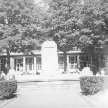 Image of Bestor Fountain and Post Office - Unknown