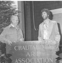 Image of Chautauqua Art Association Sign - Wertz, Silas G.