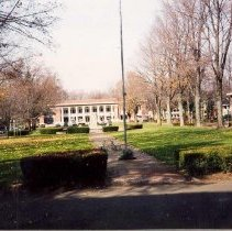 Image of Late Fall in Bestor Plaza - Unknown
