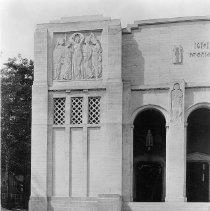 Image of Norton Hall Facade Left - Wagner, Harold