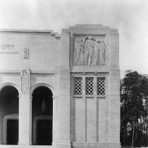 Image of Norton Hall Facade Right - Wagner, Harold