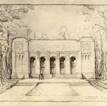 Image of Norton Hall Drawing - Unknown