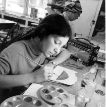 Image of Painting Student - Mahan, Gordon