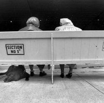 Image of Amphitheater Handicap Bench - Unknown