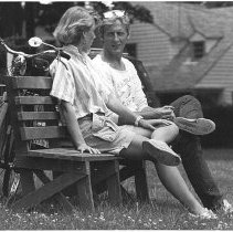 Image of Couple on Bench - Minnigh, Todd R.
