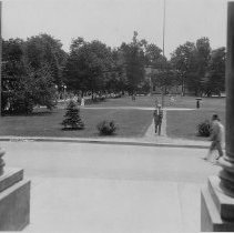 Image of Plaza from Colonnade - Wagner, Harold