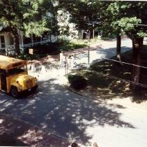 Image of Waiting for School Bus - Wade, Margaret R.