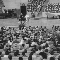 Image of Worship Service in Amphitheater - Unknown