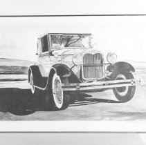 Image of Painting: 1929 Cabriolet - Wertz, Silas G.