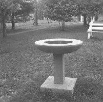 Image of Edison Bird Bath - Wagner, Harold