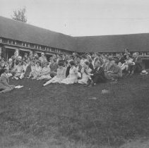 Image of Group at Arts Quadrangle - Unknown