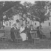 Image of Sketching Class Early 1900's. - Unknown