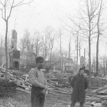 Image of Aftermath of Fire - Sherman, W.C.