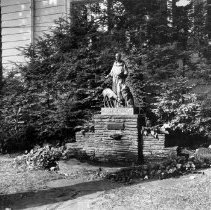 Image of Statue of St. Francis of Assisi - Herrick, Josephine