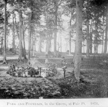 Image of Park and Fountain - Unknown