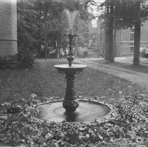 Image of Fountain, Kellog Hall Lawn - Unknown
