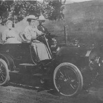 Image of Gebbie Family Car - Unknown