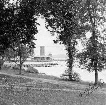 Image of Bell Tower and Pier Building - Wagner, Harold